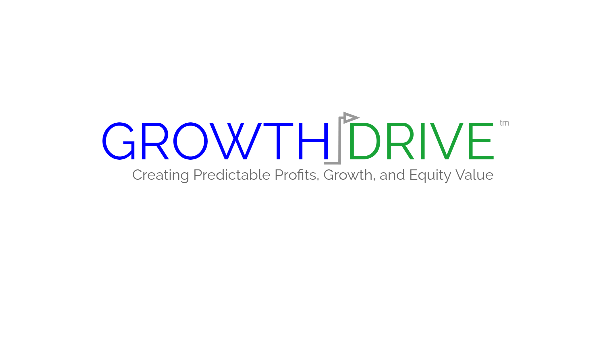 Growth Drive Logo with White Field